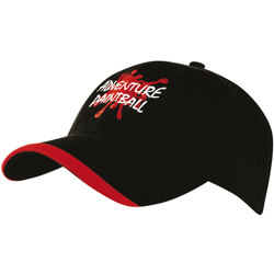 Brushed Heavy Sports Twill Hat with Contour Trim
