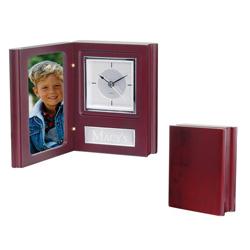 Book Style Clock/Frame