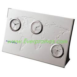 3-Zone Desk Clock